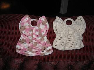 Crochet Angel Dishcloth