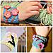 Charming Cherry Blossom Wrist Cuff pattern