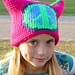 Peace Sign Graph Hat Pattern pattern