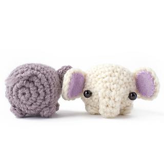 Ravelry: Little Elephant Amigurumi pattern by Evita Lamadrid | 320x320