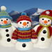 Frosty, Freezy and Fred pattern