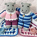 Harvey and Harriet Hippo, Sleepover Party pattern