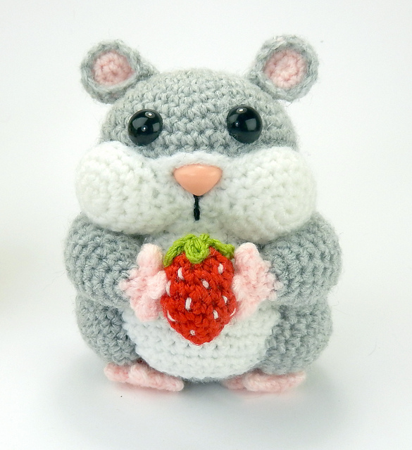 Crochet Hamster Amigurumi Free Patterns | Crochet patterns amigurumi,  Crochet animal amigurumi | 640x585