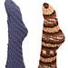 Totally Twisty Toe-Up Tube Socks pattern