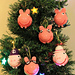 Peppa pig & family : Christmas baubles pattern