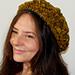 Clytie's Sunflower beret pattern