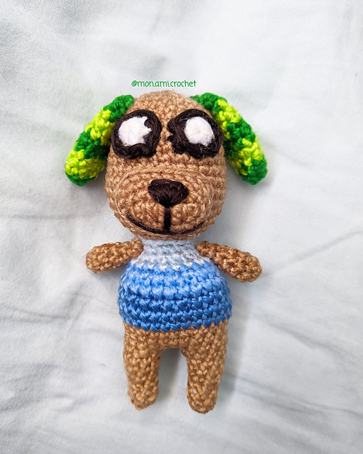 Ravelry Animal Crossing Biskit Pattern By Pam Wong