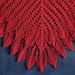 Shell and Leaf Shawl pattern