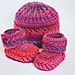 Chevron Booties and Hat pattern