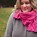 Rolling Cables Scarf - Lite pattern