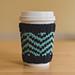 Chevron Cup Cozy pattern