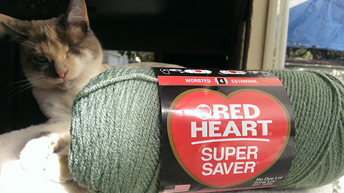 Coats Yarn E300-321 Red Heart Super Saver Yarn-Gold