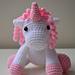 Unique the baby unicorn pattern
