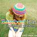 Textured Rainbow Hat pattern