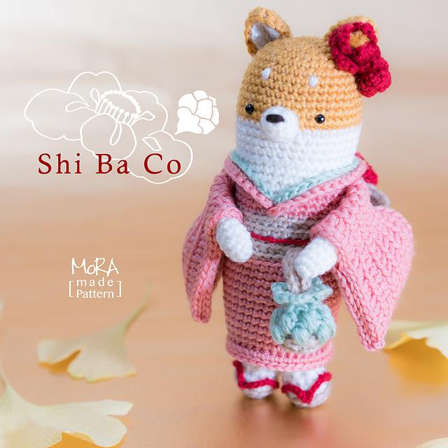 English: Crochet Doll Pattern-Kyoko 恭子 (Kimono Baby)   Crochet ...   640x640