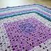 Flying Diamonds Baby Blanket pattern
