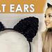 Ariana Grande Cat Ears pattern