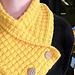 Waffle Neck Warmer Scarf pattern