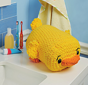 Davy Duck from Cuddly Crochet Critters