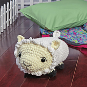 Shelly Sheep from Cuddly Crochet Critters
