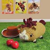 Preston Pony from Cuddly Crochet Critters