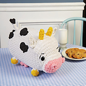 Connie Cow from Cuddly Crochet Critters
