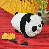 Polly Panda from Cuddly Crochet Critters
