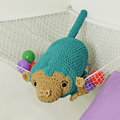 Maxwell Monkey from Cuddly Crochet Critters