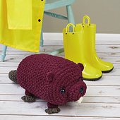 Bobby Beaver from Cuddly Crochet Critters