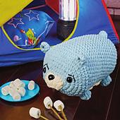 Braden Bear from Cuddly Crochet Critters
