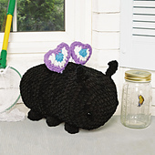 Bonnie Butterfly from Cuddly Crochet Critters
