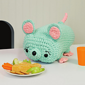 Mason Mouse from Cuddly Crochet Critters