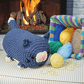 Cody Cat from Cuddly Critter Crochet