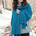 Bluebell Flames (Blue Moon Shawl) pattern