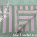 Cross My Heart Baby Blanket pattern