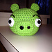 Angry Bird The Green Pig pattern