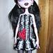 Blythe or Monster High Doll Humbug Heart Dress pattern