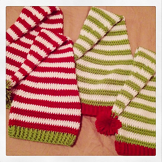 Crochet Christmas Hat Patterns.Ravelry Elf Hat Pattern By Chassity Oquendo