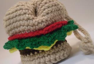 Hamburger Amigurumi Crochet Pattern ⋆ Crochet Kingdom | 218x320