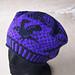 Raven Hat pattern