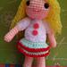 Amigurumi girl Amy pattern