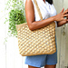 holiday raffia bag pattern