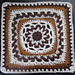 "MOvember 9""/12"" Block Square Afghan pattern"