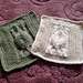 """Turtle FORD 9"""" Afghan Dishcloth Block Square pattern"""