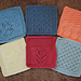 "DISHCLOTHS Knit 9"" COMEDY SERIES pattern"