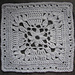 """""""Fare Thee Well"""" 9"""" and 12"""" Afghan Square Block pattern"""