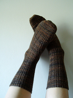 Twin Rib Socks