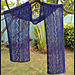 Garden at Nighttime Lace Scarf pattern