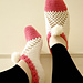 Easy to Make Cluster Slippers pattern