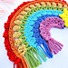 Boho Crochet Rainbow pattern